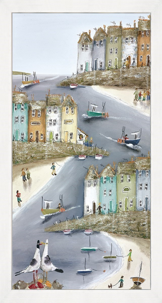 High And Dry I by Rebecca Lardner - Limited Edition Box Canvas sized 10x20 inches. Available from Whitewall Galleries